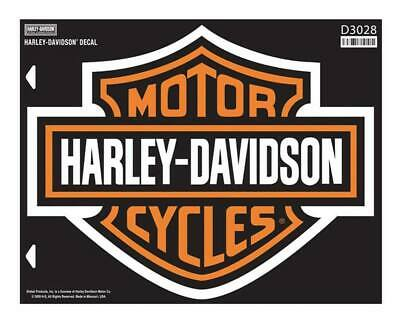 Harley-Davidson Bar & Shield X-Large Decal, X-Large Size Sticker D3028
