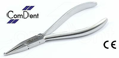 Orthodontic   How Utility  Pliers  Serrated Straight Tips Stainless steel CE New