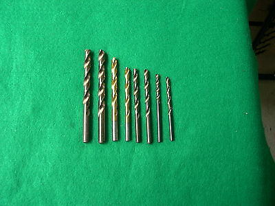 CLE Forge High Speed Drill Bits (8)