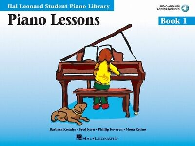 Hal Leonard Student Piano Library Lessons Book 1 & CD *NEW* HLSPL Tuition Method