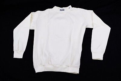 Rjs Sfi 3.3 Fr Racing Armor Underwear Aramid Nomex Shirt Top White 4X