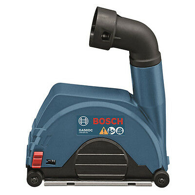 """Bosch 4-1/2"""" to 5"""" Small Angle Grinder Dust Collection Attachment GA50DC New"""