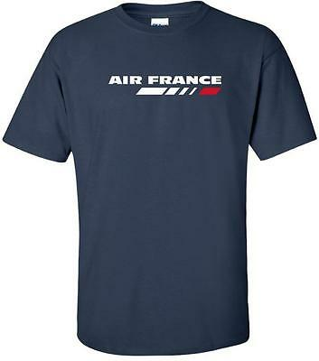 Air France Vintage Logo French Airline Aviation T-Shirt