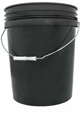 Hydrofarm HG5G 5-Gallon Black Bucket