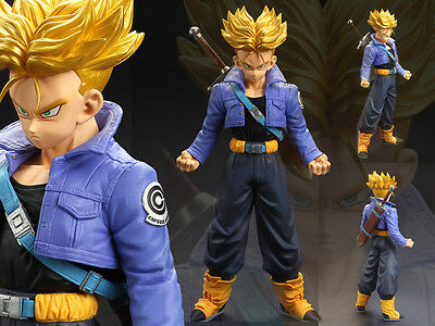 Banpresto Dragon Ball Z DBZ Super Saiyan SS Trunks MSP Figure Figurine No Box