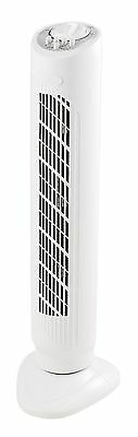 3 Speed Tower Home Office Oscillating Electric Air Fan Timer Free Standing