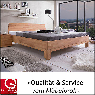 woodlive rivo holzbett doppelbett 180x200 buche eiche natur eur 559 00 picclick de. Black Bedroom Furniture Sets. Home Design Ideas