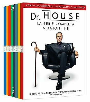 Cofanetto Dvd - Doctor Dr House Stagione Stagioni 1-8 Serie Tv - 46 Dvd