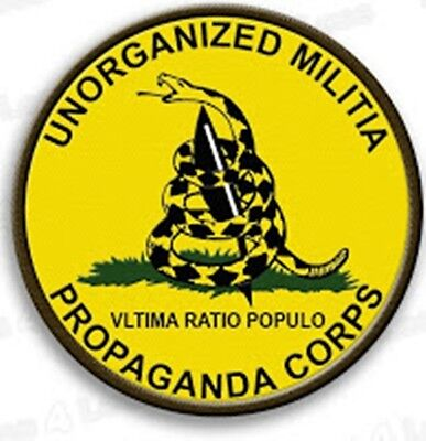 Militia Propaganda Corps Full color, Green Subdued, Pink Patches