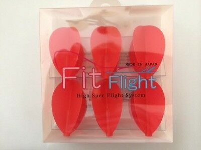 Cosmo Fit Flights Pack Of 6 Red Pear Shape