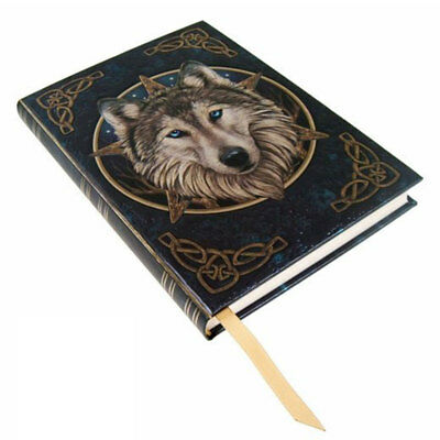 NEW IN PACKAGE Wild One Wolf Journal Lisa Parker Diary Blank Book Foil Embossed