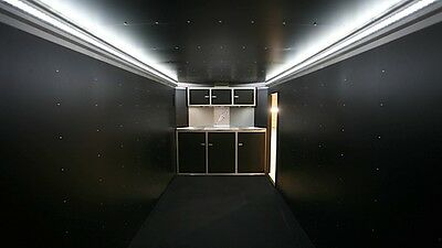 LED universal trailer lighting system -- 300 led's total -- free switch & WIRE