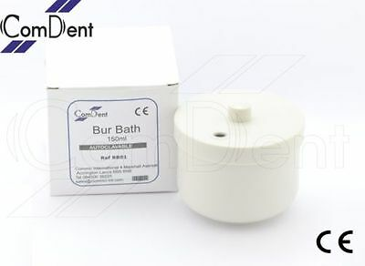 Bur Bath 150ml with Removable Inner Basket Lid Manual Cleaning of Burs New