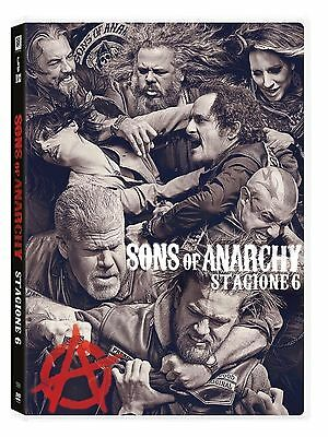 COFANETTO DVD - SONS OF ANARCHY SERIE STAGIONE 6 SERIE TV (5 DVD) - Nuovo!!
