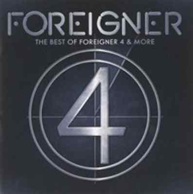 Foreigner-The Best of Foreigner 4 & More  CD NEW