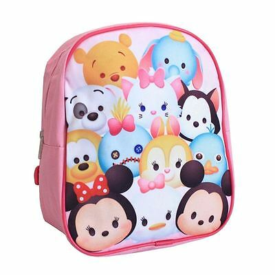 TSUM TSUM | Kids School Small Rucksack Bag PE Lunch Travel Backpack Adjustable
