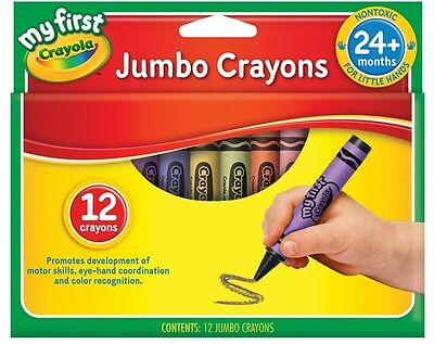 My First 12 pack Jumbo Crayons from Crayola 52-912