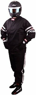 Rjs Racing 2Piece Fire Suit Sfi 3-2A/1 Jacket & Pants Embroiderey With Your Name