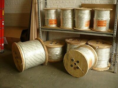 """Double Braided 7/8""""X300' Cable Pulling Rope ( New )"""