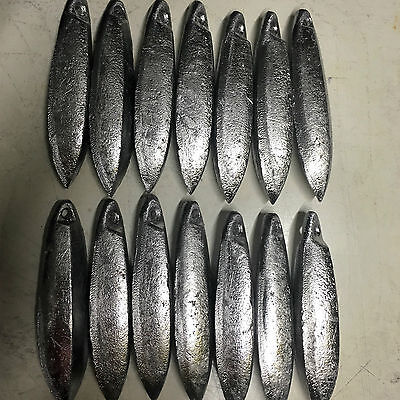 Reef Snapper Fishing Sinkers 12oz x 14  Other sizes available