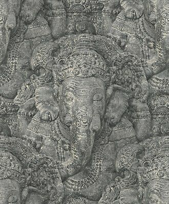 New Rasch 525502 Crispy Tranquillity Elephant wallpaper