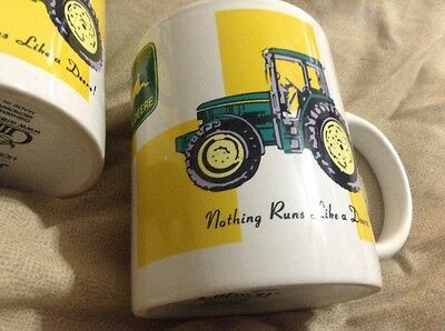 John Deere Coffee Mug Cup Desgin by GIBSON - Licensed Product Collectible Farm