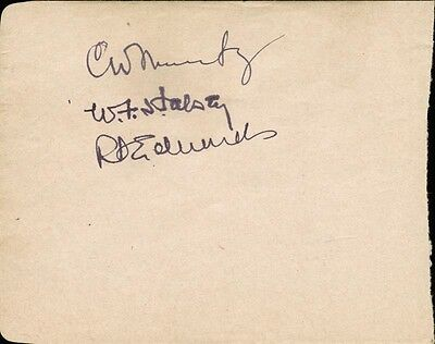 Chester W. Nimitz - Signature(S) With Co-Signers
