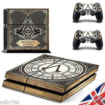 Assassin Creed PS4 Sticker Playstation Decal Skin Wrap Cover Console Controller