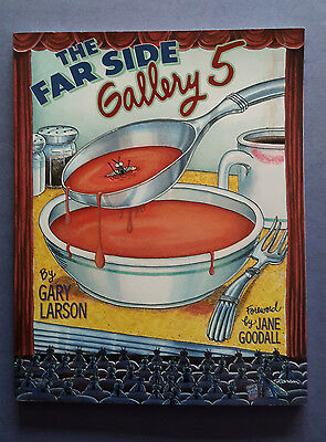 The Far Side Gallery #5,  Gary Larson paperback, 1st print, 1995