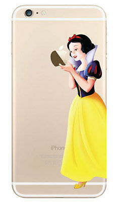 """Snow White Holding Apple Decal Sticker for iPhone 6 (4.7"""")"""