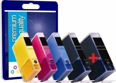 5 PGI550 CHIPPED Ink Cartridges For Canon Pixma MG6350 MG5450 IP7250