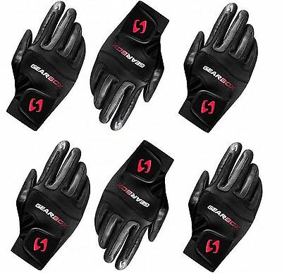 6 (six) gloves Gearbox Movement right LARGE racquetball glove six pack