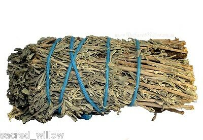 Lavender and Sage Smudge Stick 12cm Cleansing Wicca Altar Ritual Cleanse &