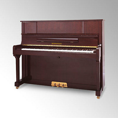 BERNSTEIN NEW UPRIGHT PIANO WITH STOOL 123TCM SPECIAL ED @ CarlingfordMUSIC
