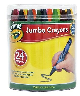 My First 24 pack Jumbo Crayons from Crayola 52-9201