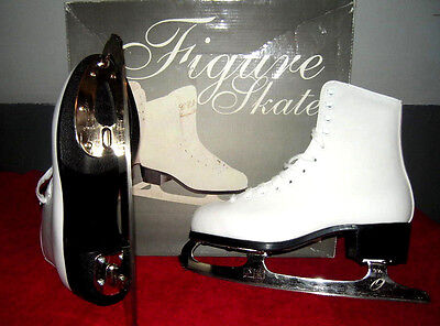 Champion Deluxe Figure Ice Skates CCM for Ladies Size 6