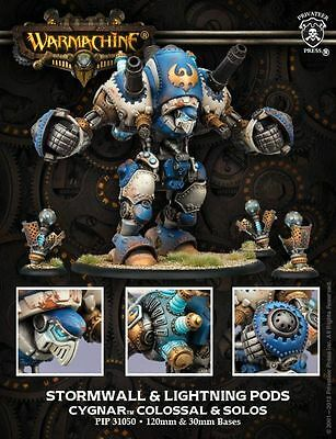 Privateer Press Warmachine Cygnar Stormwall Colossal