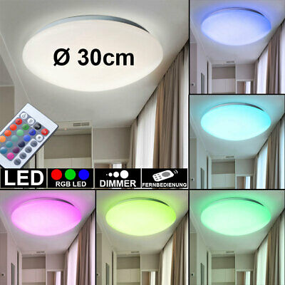 15 W Rgb Led Ceiling Lamp Color Changing Living Guest Rooms