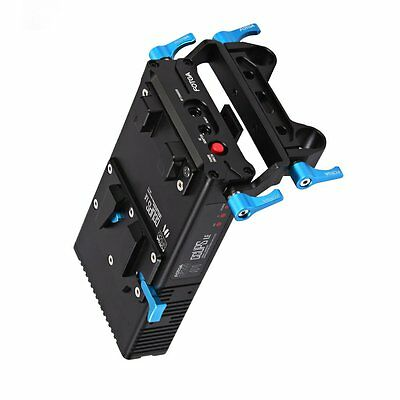 FOTGA DP500 Mark III V-Mount Battery Power Supply Plate For Sony A7s A7R A7II