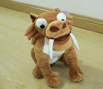 New Films Ice Age 3 Diega Saber Toothed Tiger Plush Dolls Stuffed Animal Toys 9""