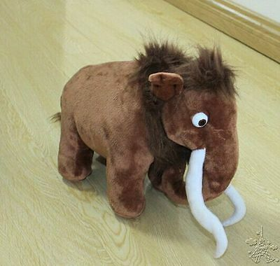2018 New Films Ice Age 3 Manny Mammoth Soft Plush Dolls Stuffed Animal Toys 9""