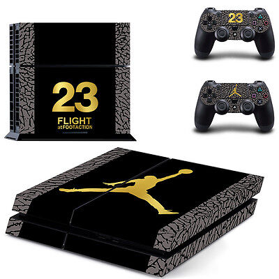 Latest Michael Jordan Skin Sticker For Sony PS4 Console Controllers Skin Decal
