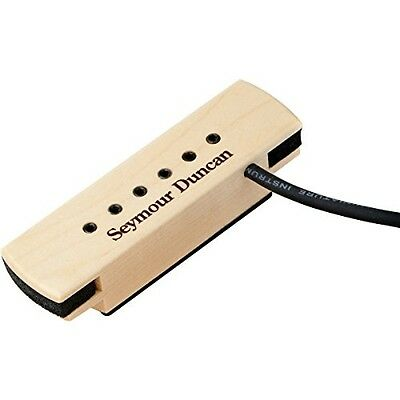Seymour Duncan Woody XL Adjustable Pole Pieces Soundhole Pickup - NUOVO