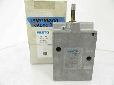 MFH-3-1/2-S MFH312S Festo Solenoid Valve (New In Box)