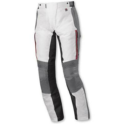 Held Torno Grey / Red Gore-Tex Motorcycle Motorbike Textile Trousers