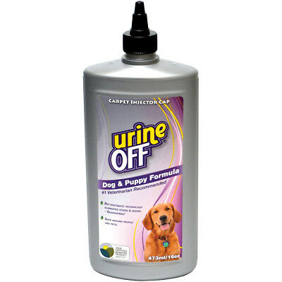 Urine Off Dog & Puppy Formula W/Carpet Applicator Cap 16oz  PT6058
