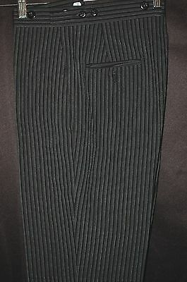 Flat Front Vintage Cutaway Morning Suit Hickory pants Victorian Dickens Mens Boy