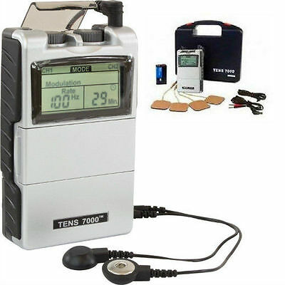 Electrical Stimulation Massage Pain Relief Muscle Therapy Tens Unit 7000