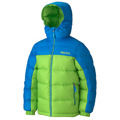 NEW $140 BOYS MARMOT GUIDES DOWN JACKET 700fill OURAY
