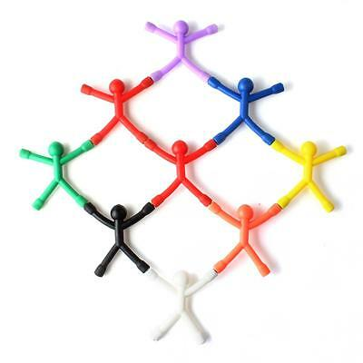 9PCS Mini Magnet Q-Man Novelty Awesome Gift Cute Rubber Magnet Man Toy